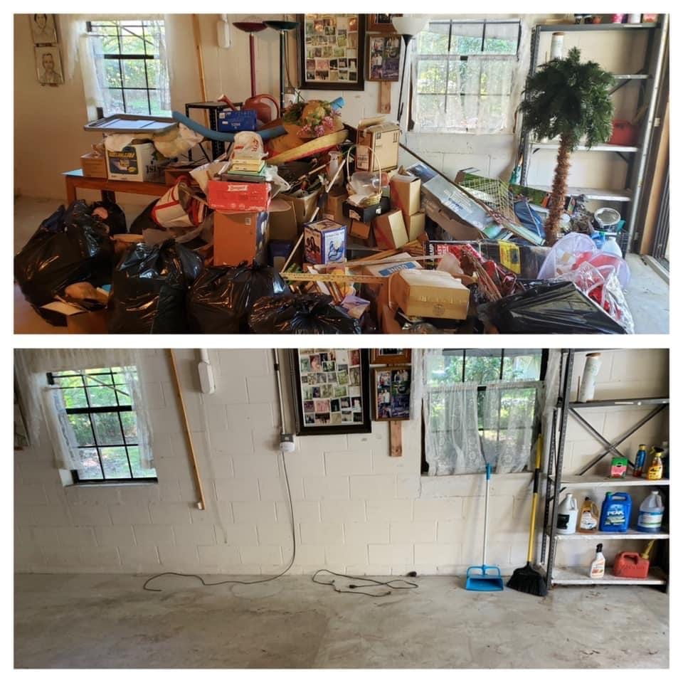 Ocala Junk Removal Garage Clean-out