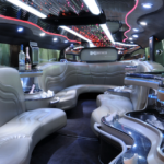 Interior Hummer Limo Stretch
