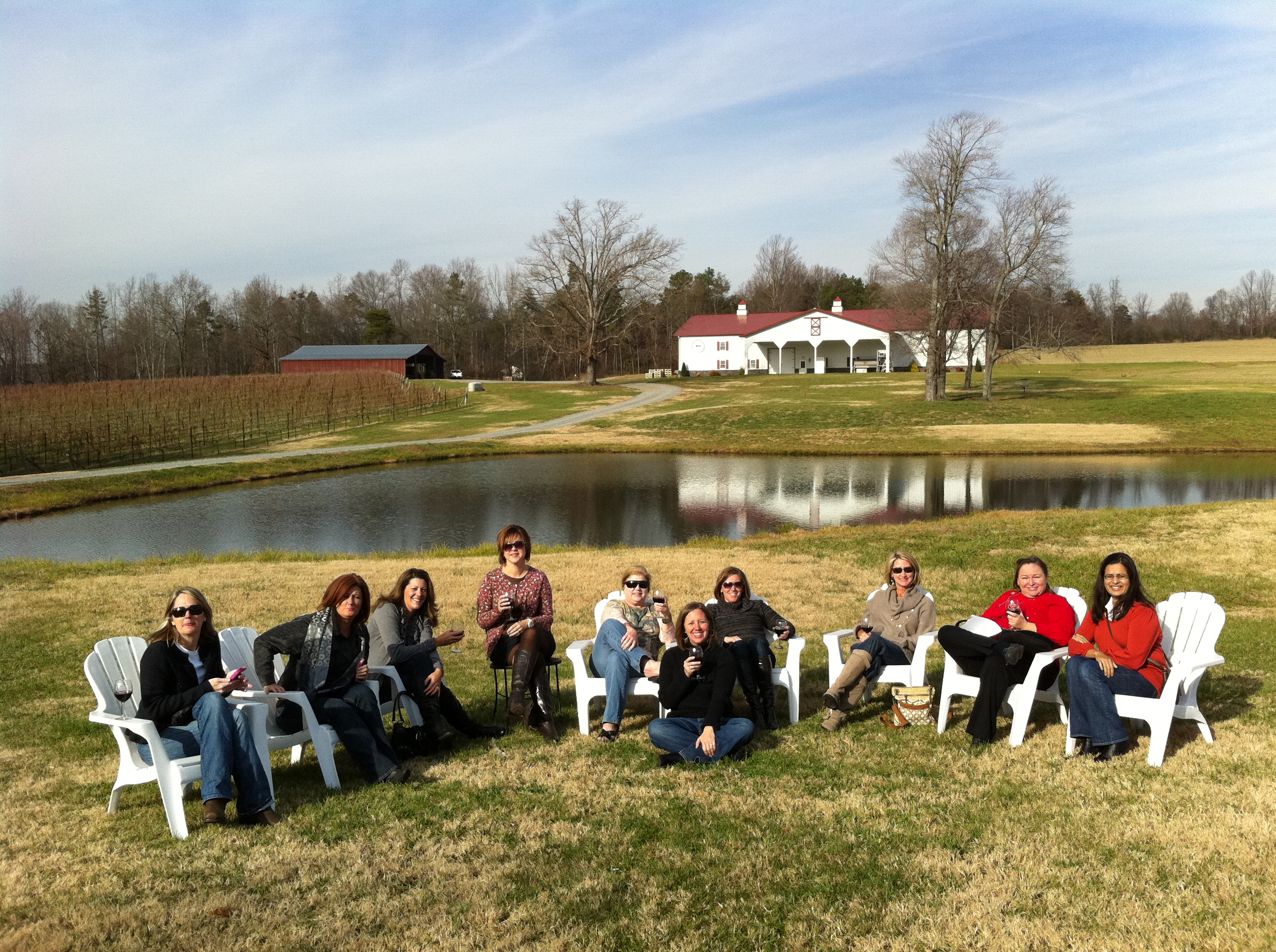 Carolina Luxury Transportation Group wine tour nc