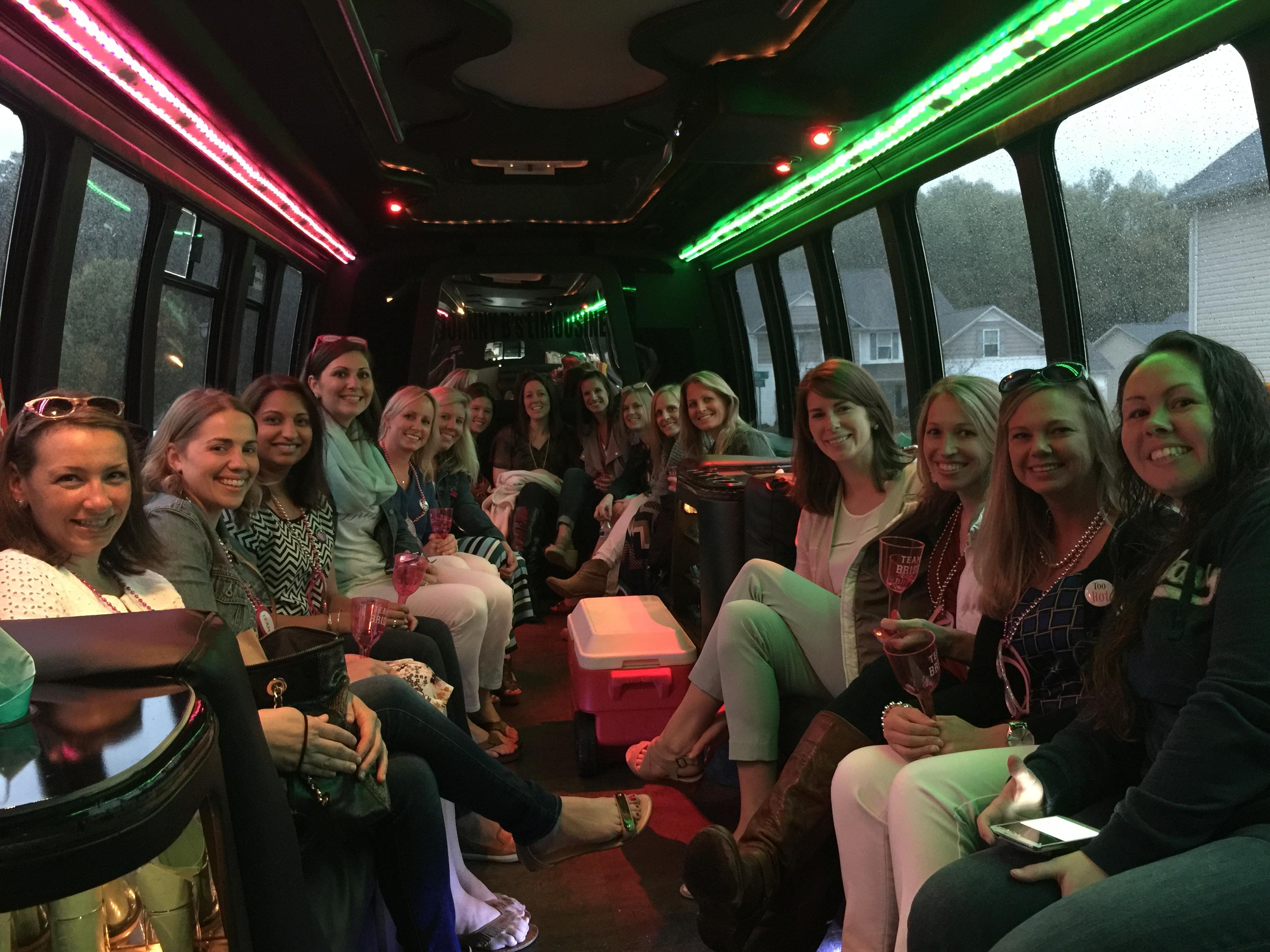 ladieslimo wine tour bus