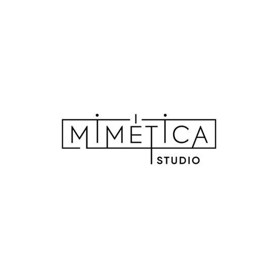 muestras de manejo del logo para Mimética