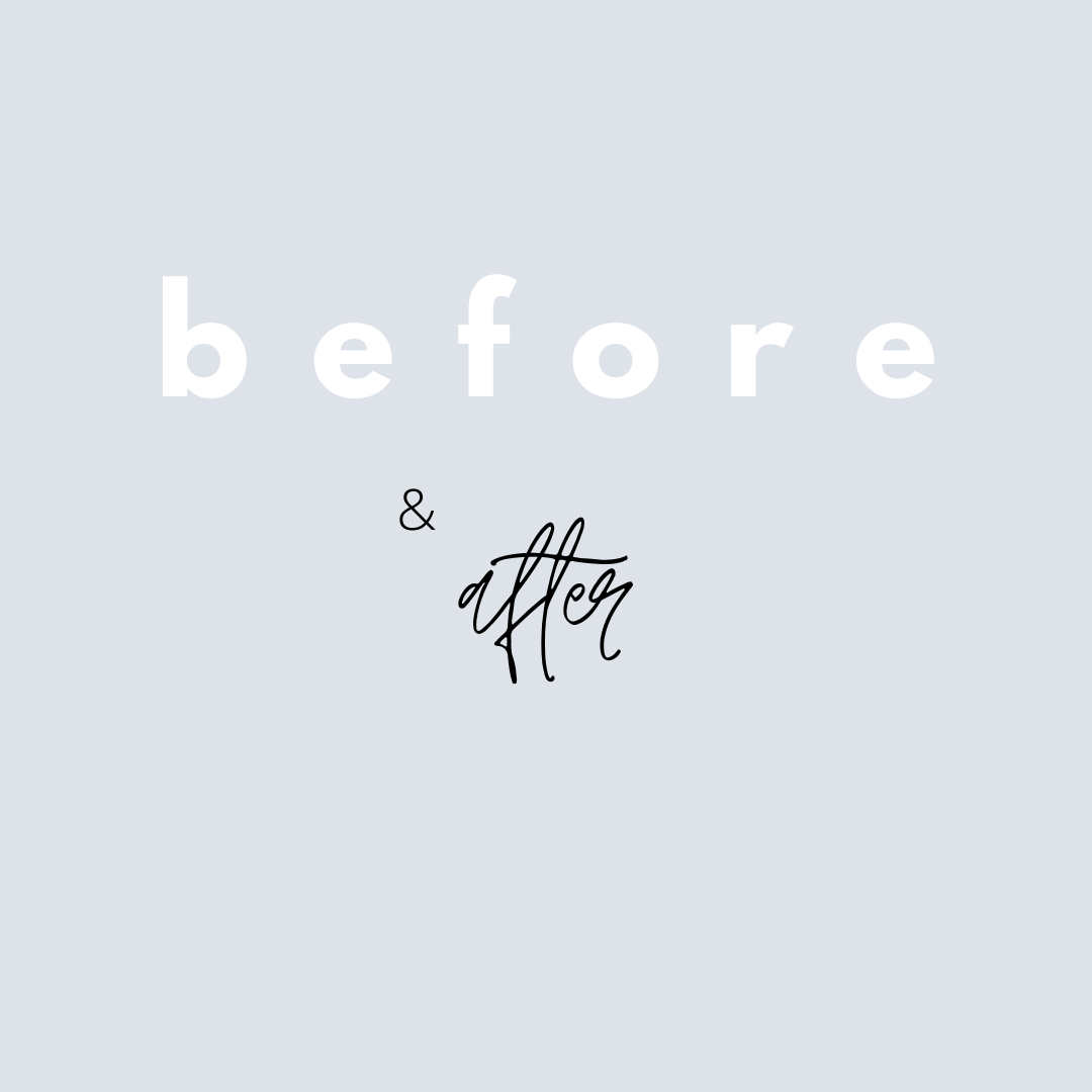 Beautiful, Painted Oval Frame – Before & After