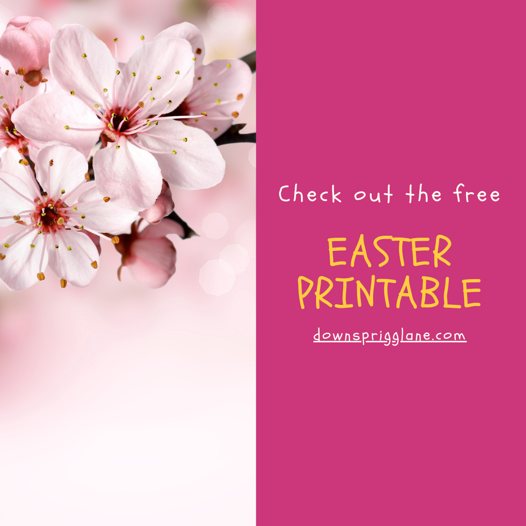 Free Printable for Easter