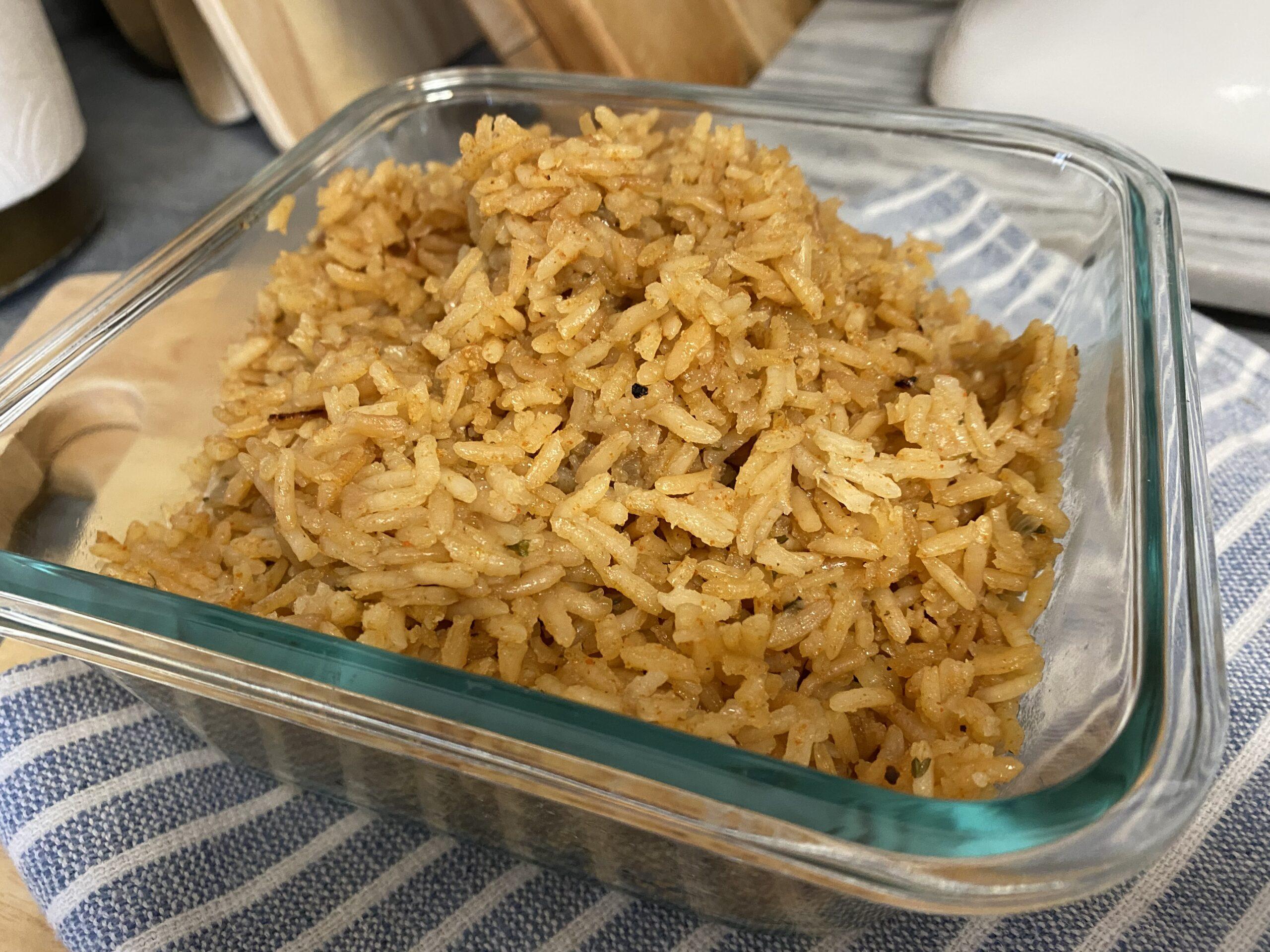 Cheryl's Texas Roadhouse Rice (copy cat)