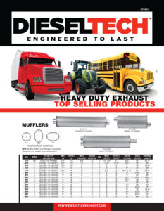 Heavy Duty Exhaust Top Selling Products