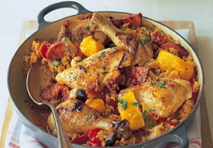 Portuguese Chicken Basque