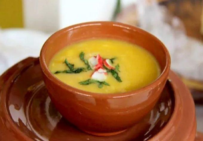 Portuguese Cream Of Fish Soup