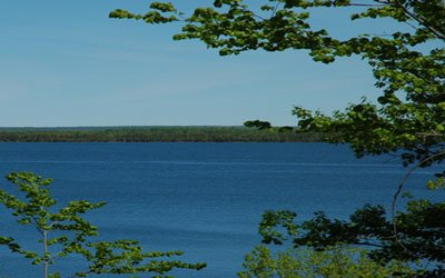view on Manitoulin 2 bedroom cottage