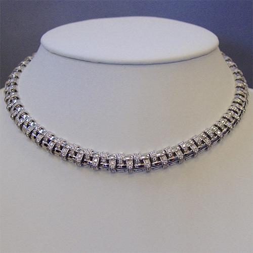 Tiffany & Co diamond necklace