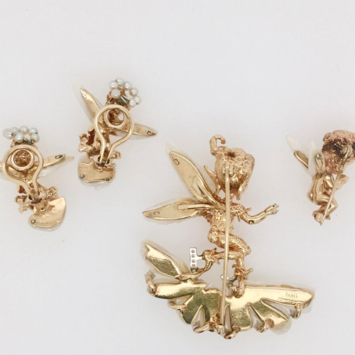 Collection of Vintage William Ruser Jewelry