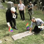 Dr. Damien Martin &  Dr. Emery Hetrick Grave Site