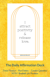 I attract postivity and release love