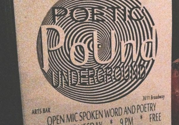 flyer for KCMO's Poetic Underground Open Mic