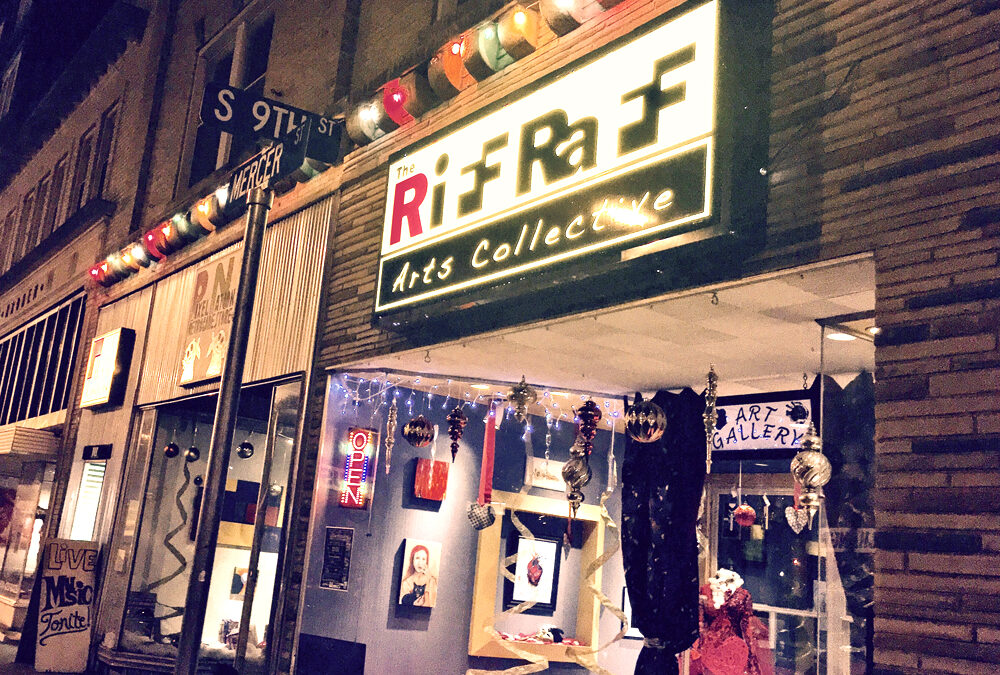 storefront at the RiffRaff Arts Collective