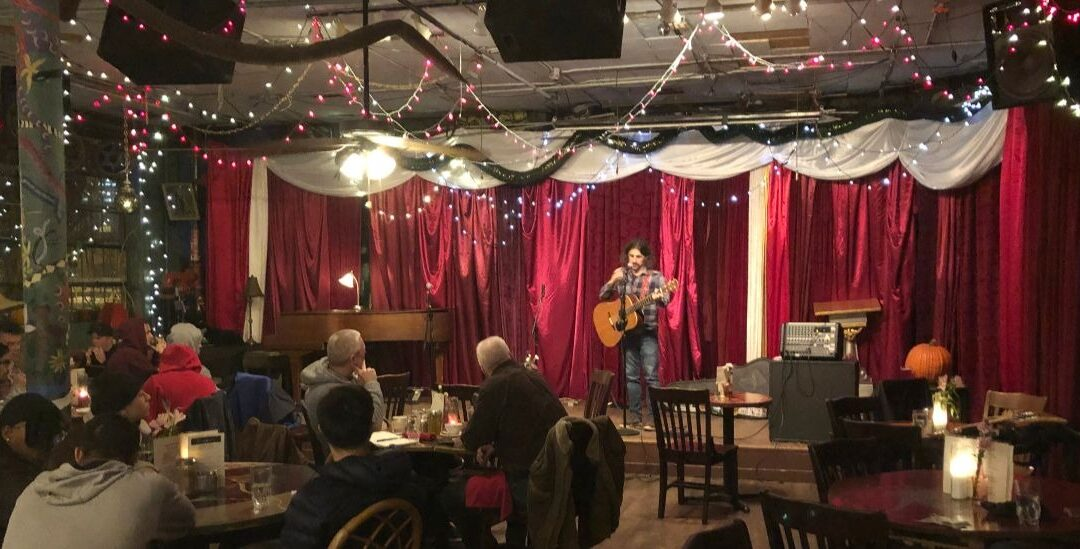 Wednesday open mic at the Mercury Cafe