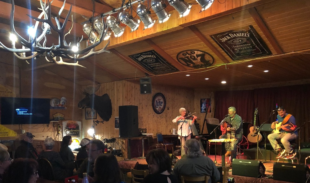 Open Mic at the Bull Moose Lodge & Saloon – Alpine, WY