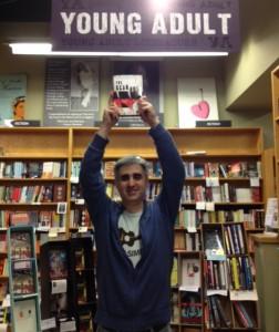 Len Vlahos at Bookshop Santa Cruz
