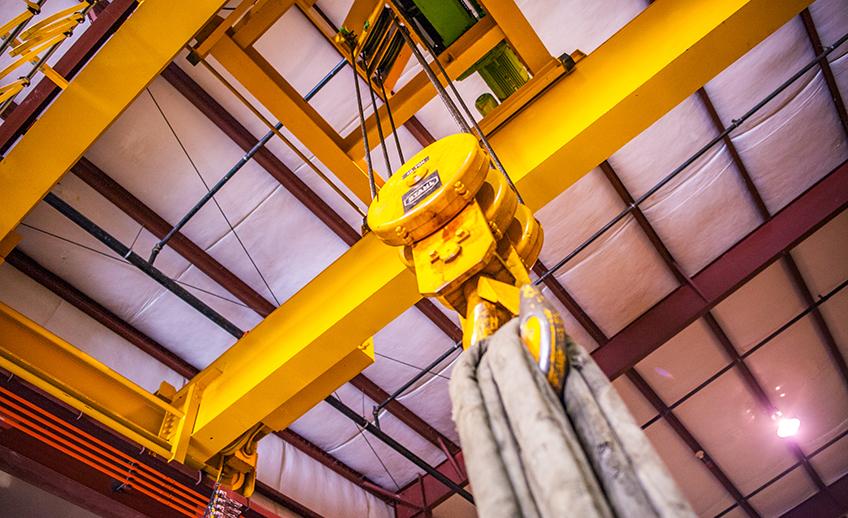 Wagner Warehousing 40 Ton Crane
