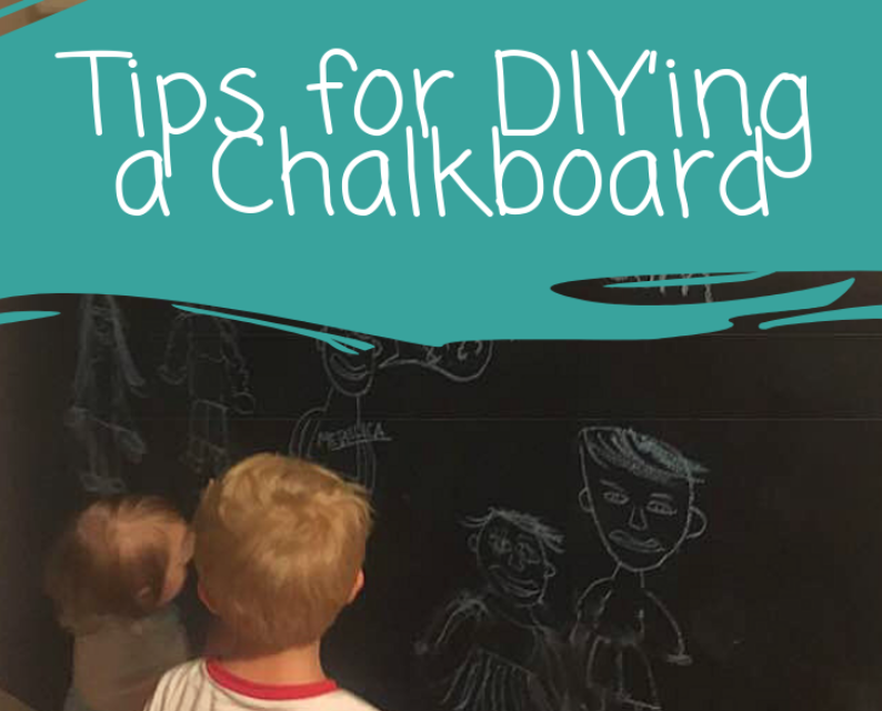 DIY Chalkboard Tips