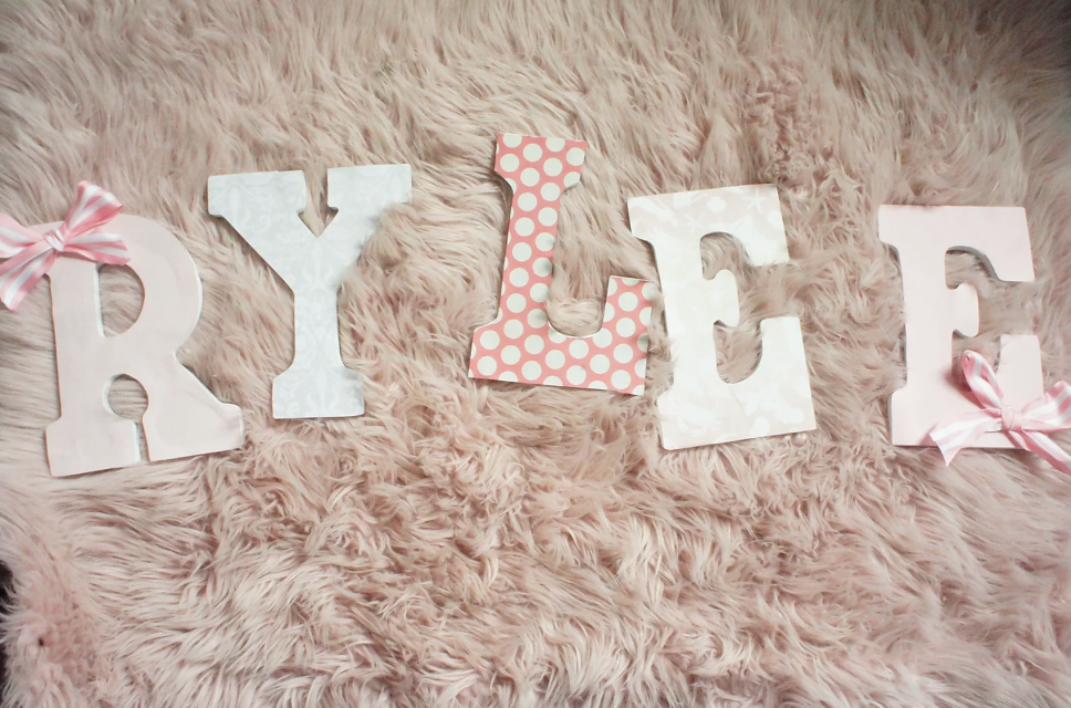 DIY Decorative Kid's Letters