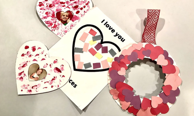 Kid Friendly Valentine's Day Craft