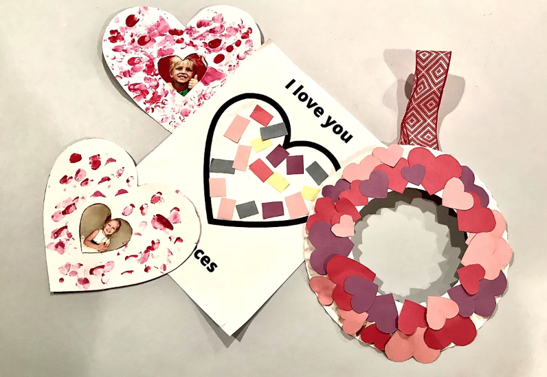 Kid Friendly Valentine's Day Craft
