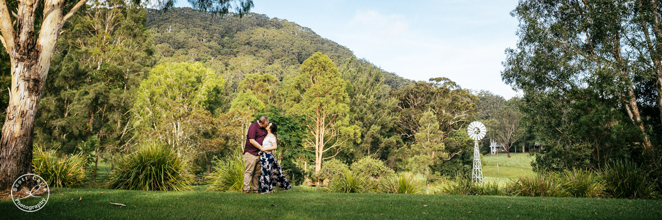 Engagement Shoot with Hannah & Adam @ Friday Creek Retreat North Coast NSW
