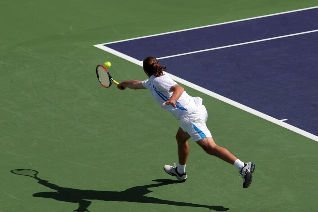 Traveling Tennis Pros - Always Expect the Ball to Come Back