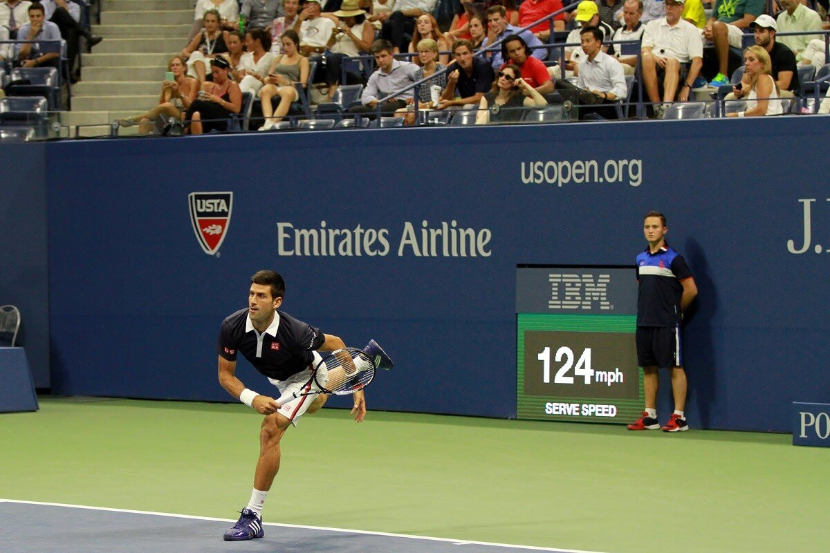 Traveling Tennis Pros - Survival - Djokovic - Getty Images