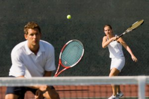 Traveling Tennis Pros - Mixed Doubles
