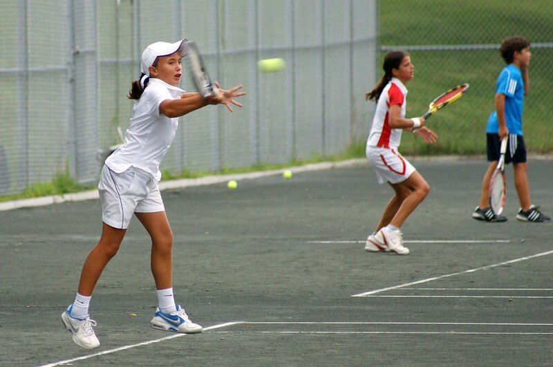 Traveling Tennis Pros - Serve and Return