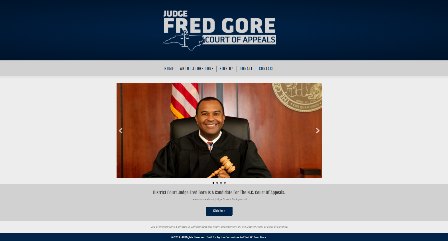 Fred Gore Site