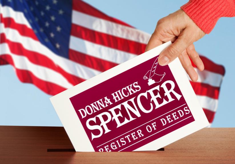 Donna-Spencer-Ballot-Box