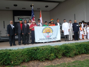 Bharathi Theertha Independence Day in Naperville