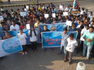 WW Day, Rally with Gitam University Students SAM_2172