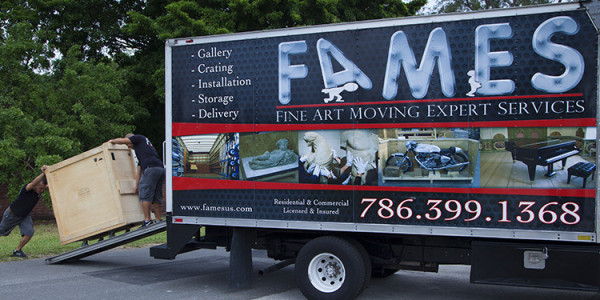 residential moving services with Fames