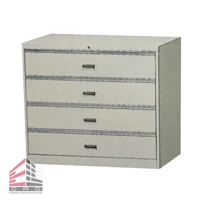 Filing System- Steel Cabinet CD-4B