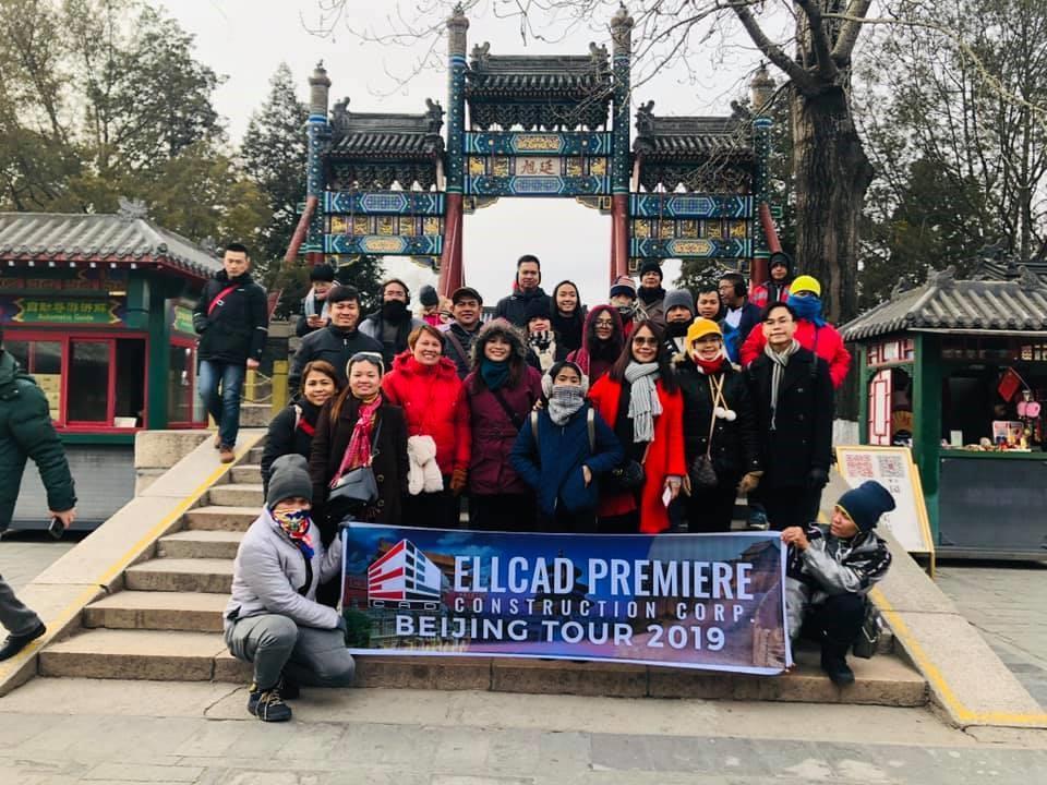 Ellcad Team at the Summer Palace