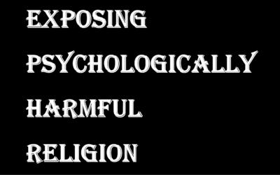 The Atlanta Shooter and Psychologically Harmful Religion.