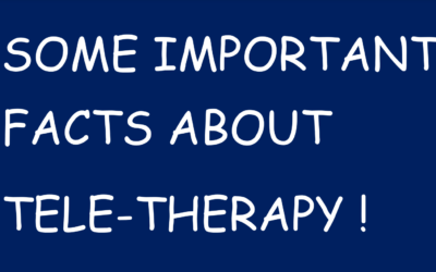 Some Important Facts about Tele-Therapy.