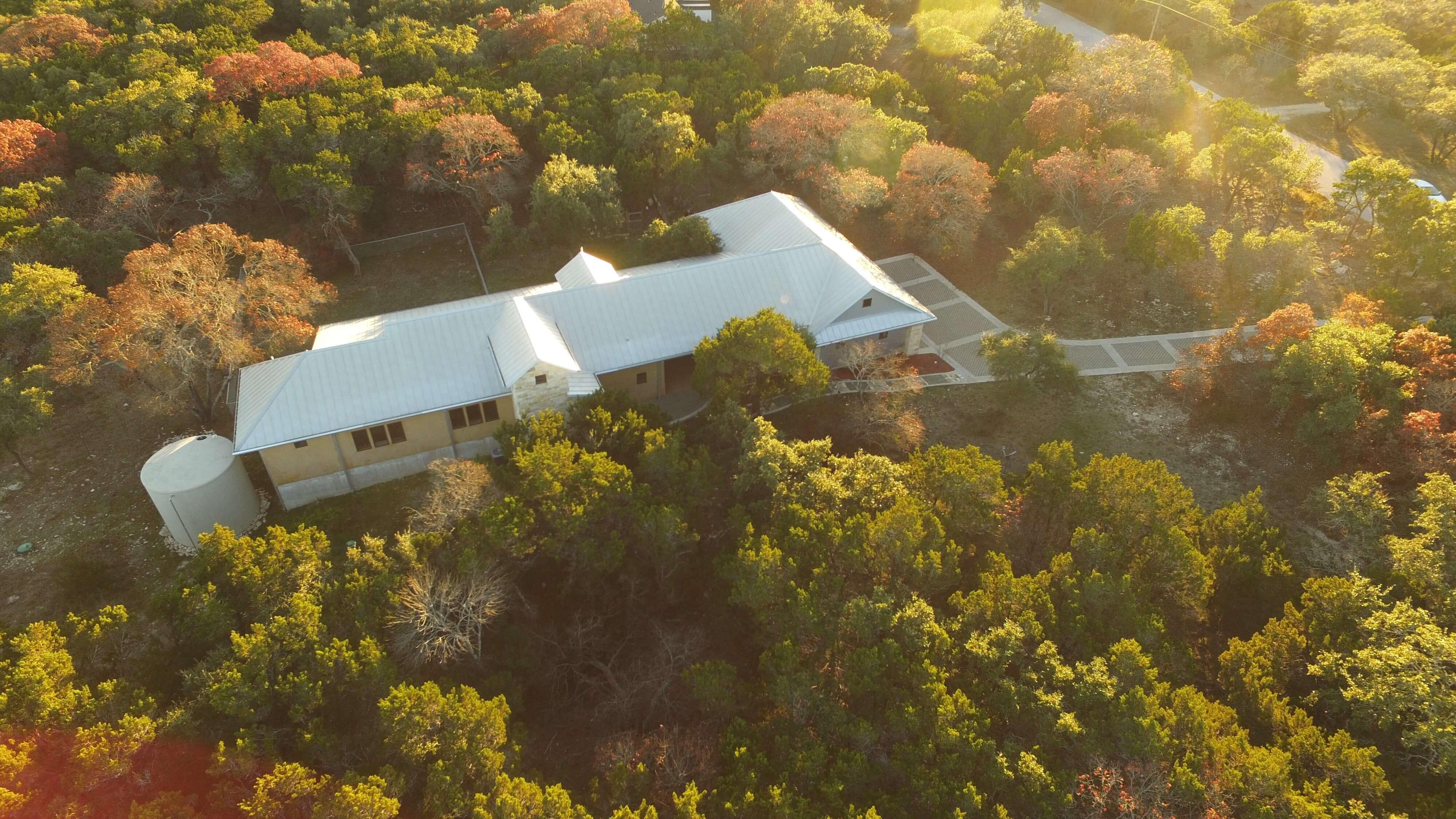 Big Oak Circle Aerial