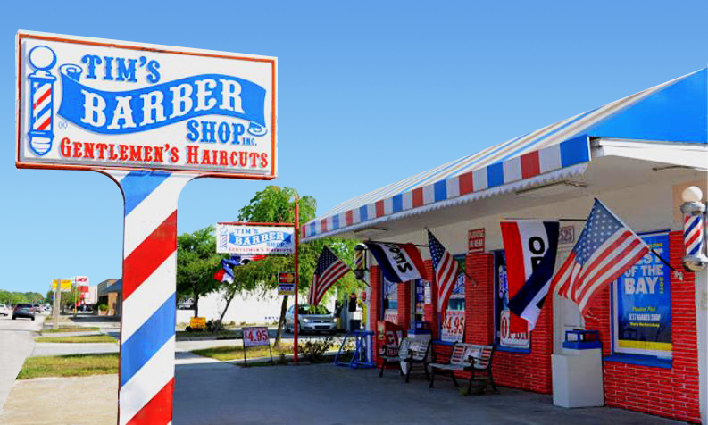 Tim's Barbershop a St. Pete Landmark