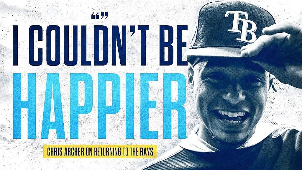 Chris Archer Back in Tampa St. Petersburg