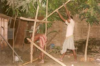 Utilizing a Tube Well in Bangladesh
