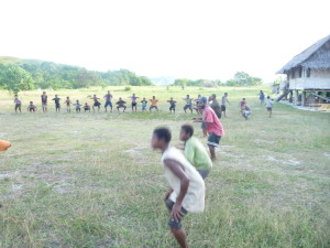 Fitness Training in PNG