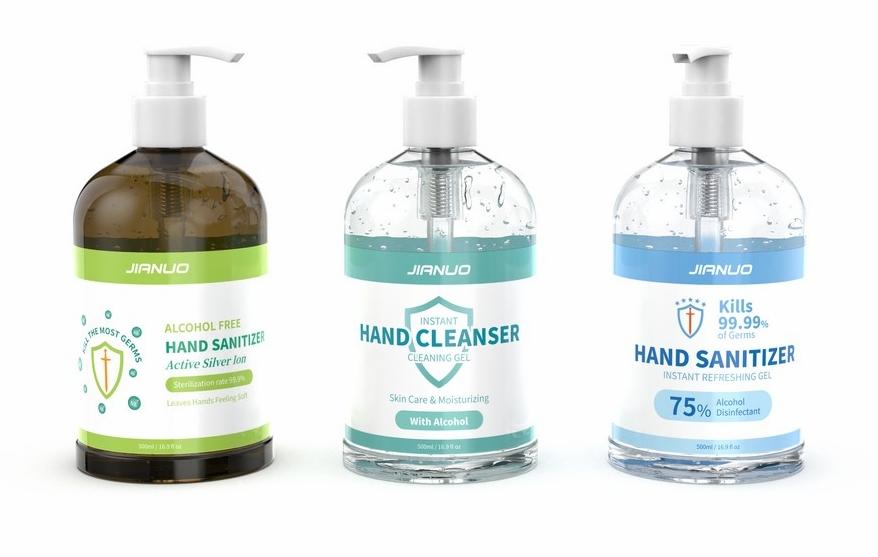 500ml Hand Sanitizer Gel