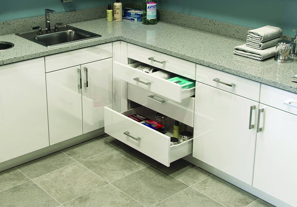 Commercial Metal Drawer Box System