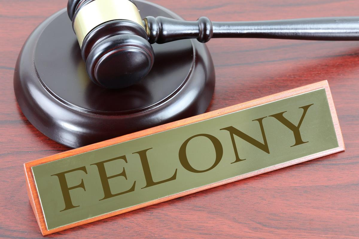 gavel felony, felony classes