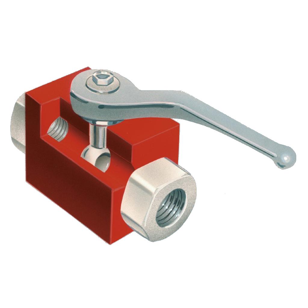 hydraulic starter components hand valve