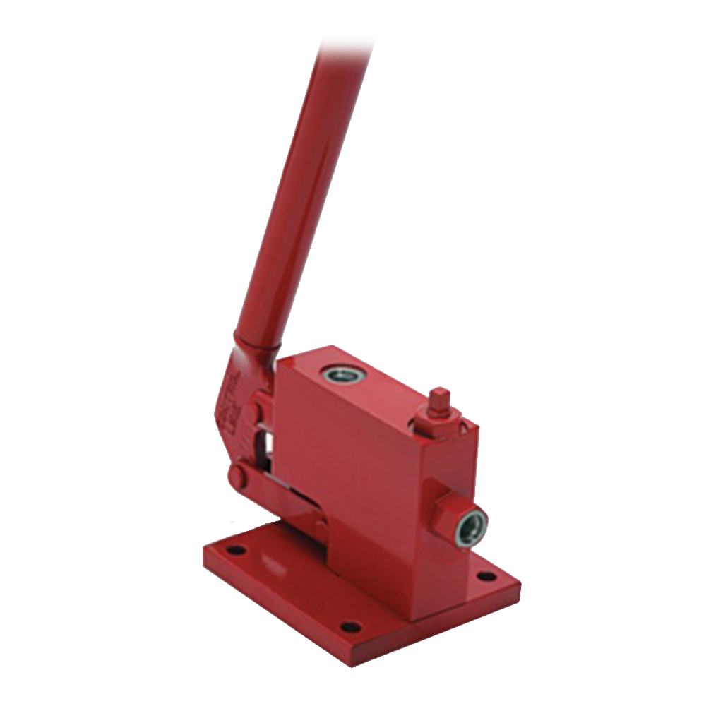 hydraulic starter components hand pump